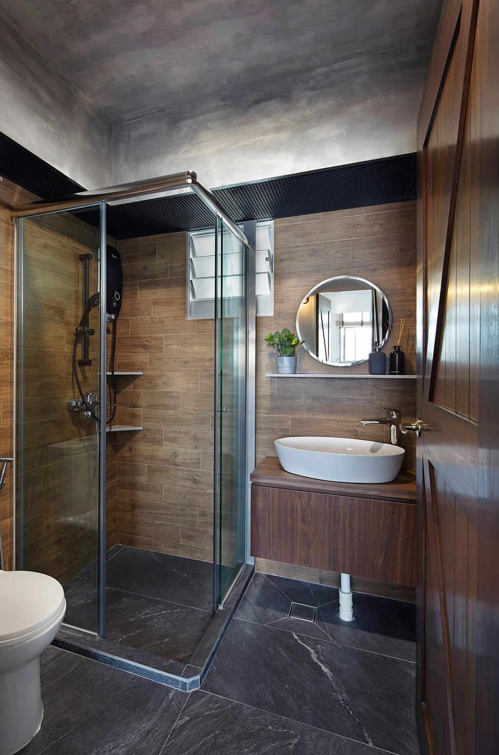 HDB, Bathroom, Bukit Batok (Block 293B), Interior Designer, Notion of W