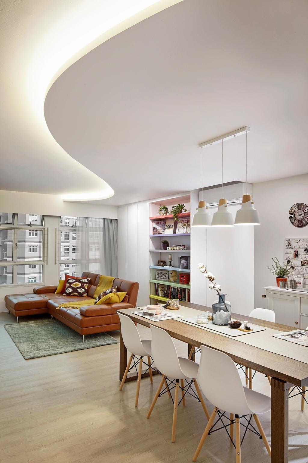 HDB, Dining Room, Bukit Batok (Block 453B), Interior Designer, Notion of W