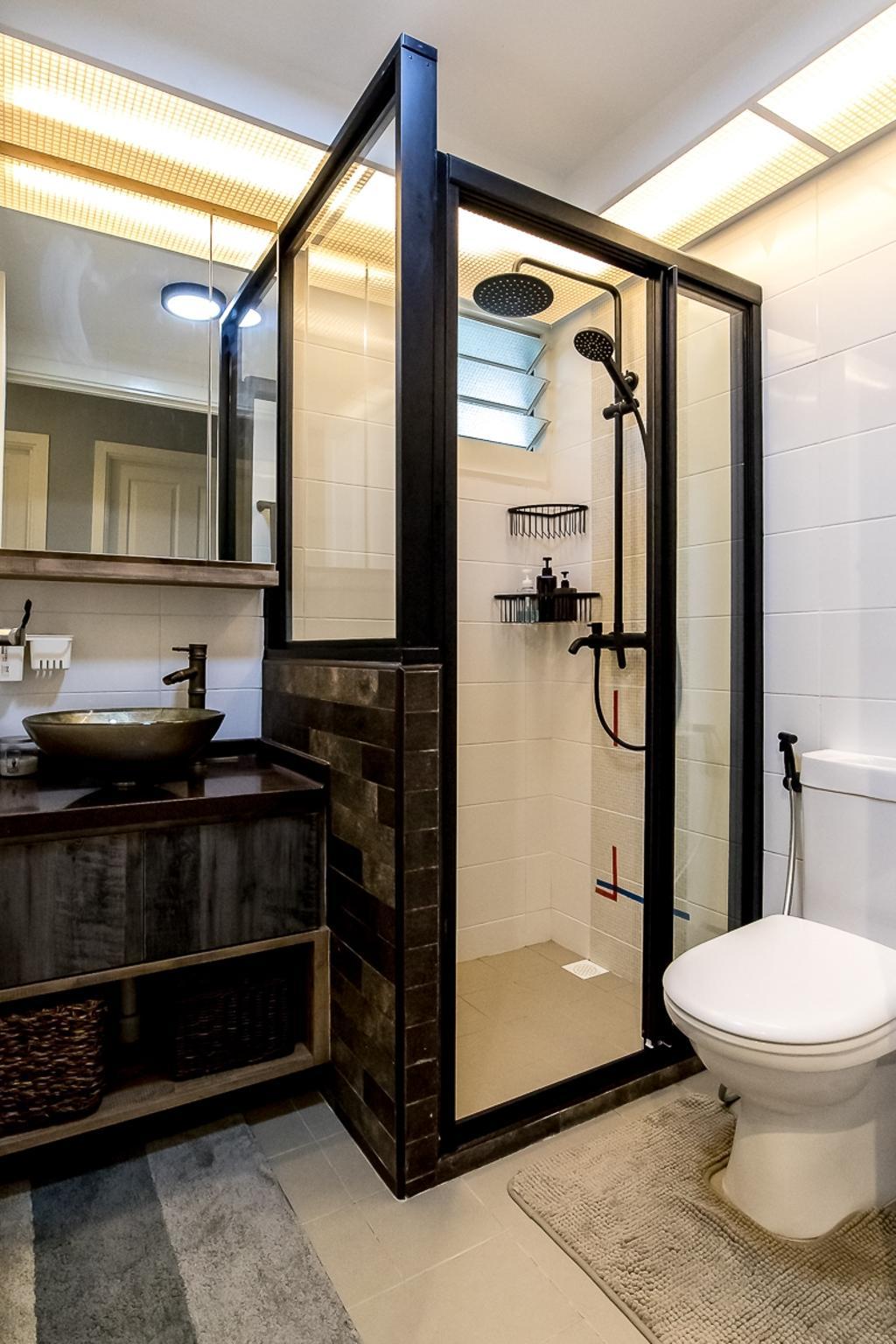 Contemporary, HDB, Bathroom, Bukit Batok West Avenue 6, Interior Designer, Style Living Interior
