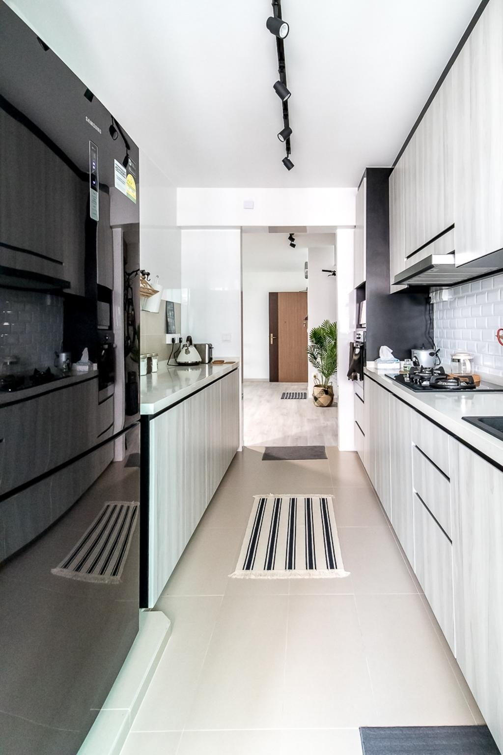 Contemporary, HDB, Kitchen, Bukit Batok West Avenue 6, Interior Designer, Style Living Interior
