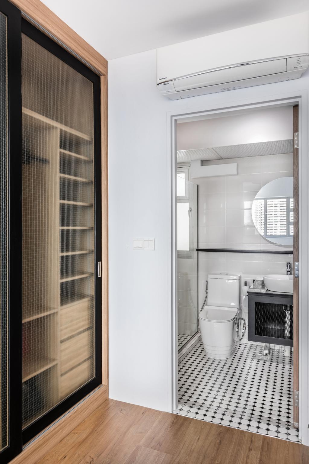 Contemporary, HDB, Bathroom, Lorong 1 Toa Payoh, Interior Designer, DSOD Interior