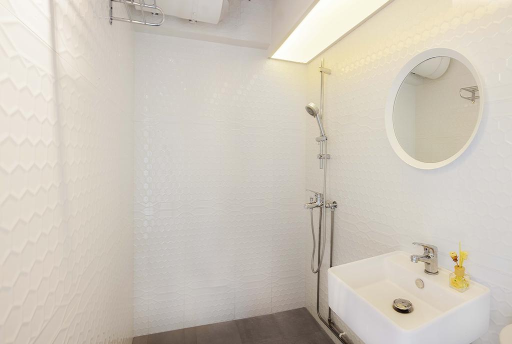 Industrial, HDB, Bathroom, Hougang Avenue 1, Interior Designer, DSOD Interior