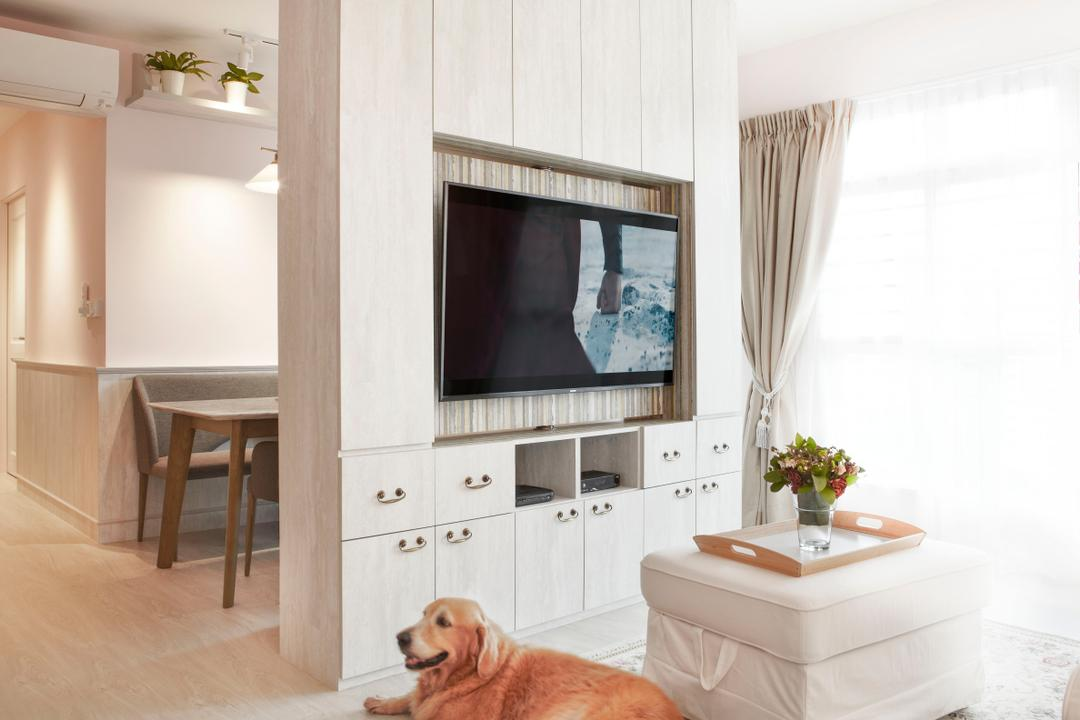 Compassvale Crescent Living Room Interior Design 2