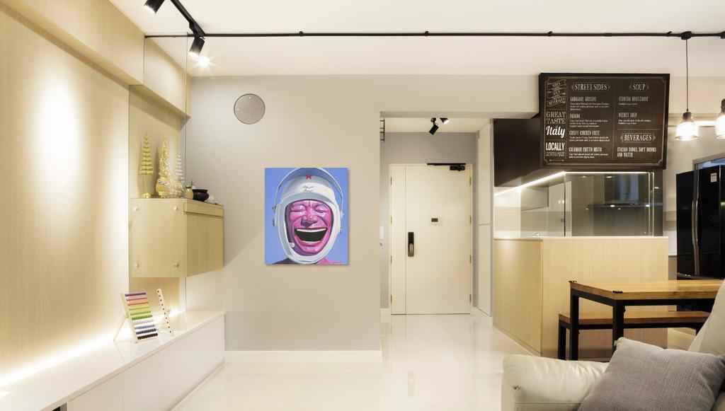 Contemporary, HDB, Upper Serangoon Crescent, Interior Designer, DSOD Interior