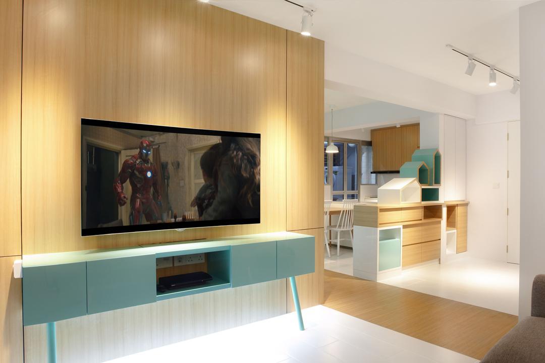 Tampines Avenue 8 Living Room Interior Design 4