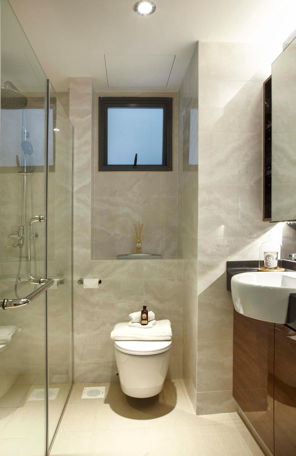 Contemporary, HDB, Bathroom, The Pinnacle @ Duxton, Interior Designer, DSOD Interior