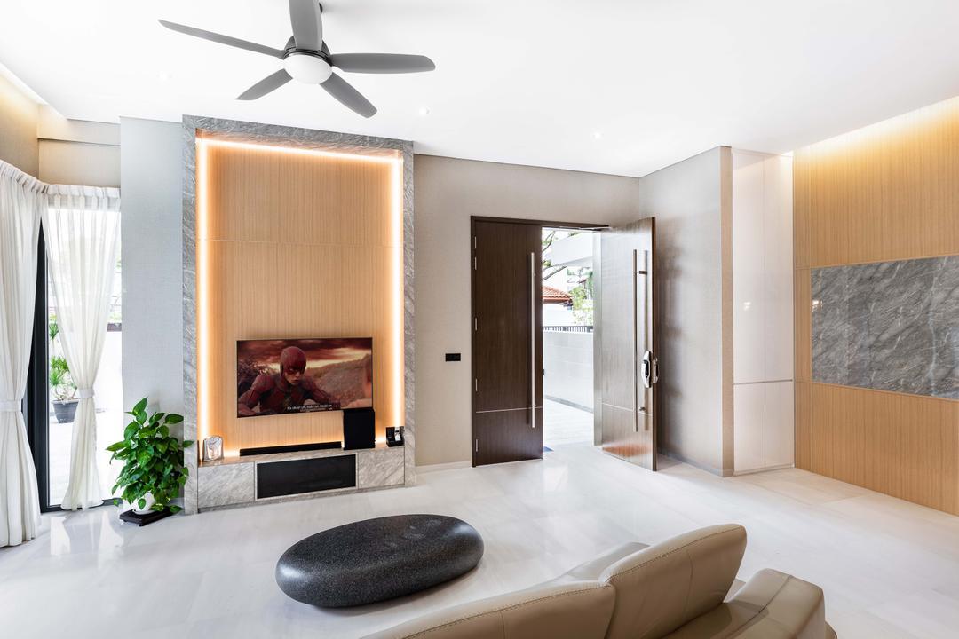 Begonia Drive Living Room Interior Design 3
