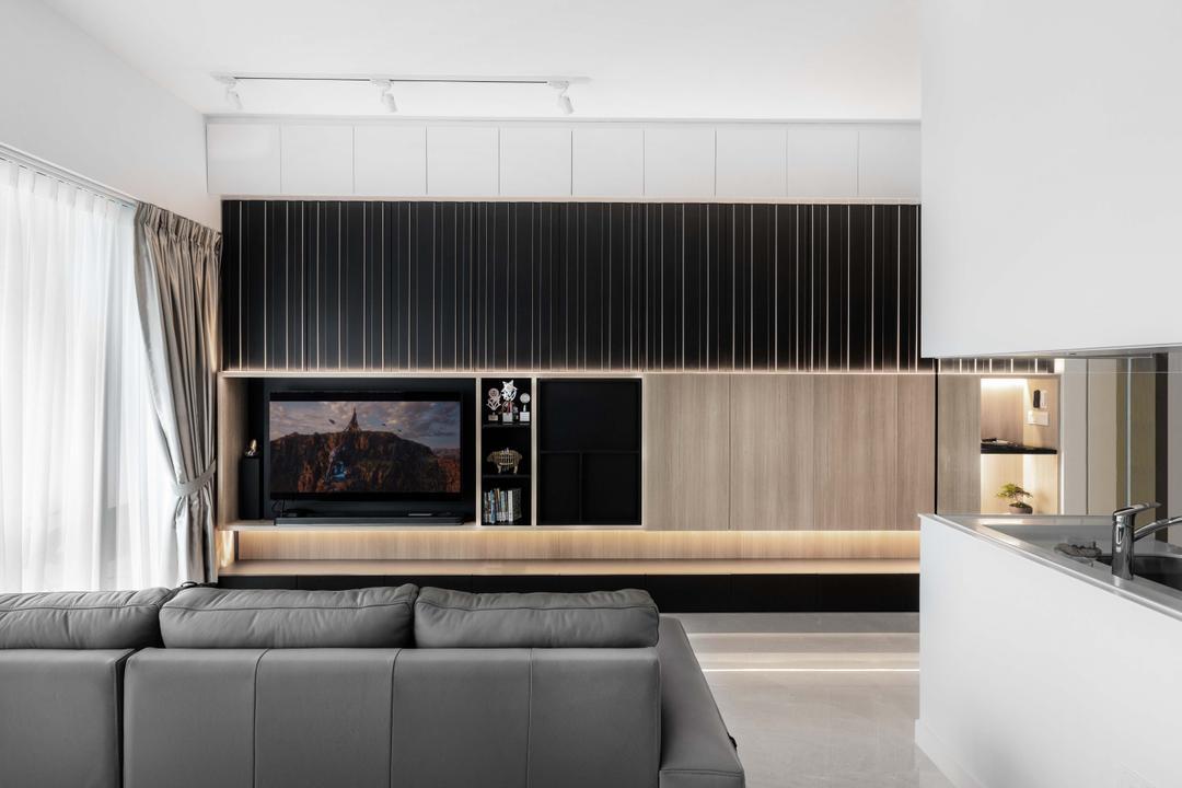 Alex Residences Living Room Interior Design 1