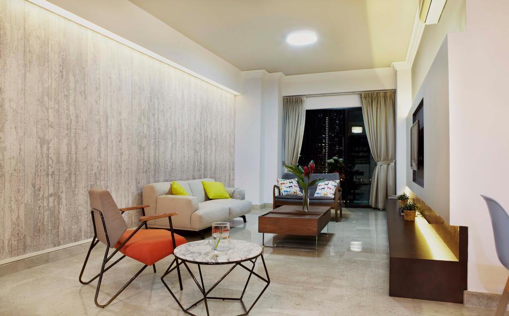 Contemporary, Condo, Living Room, The Anchorage, Interior Designer, DSOD Interior