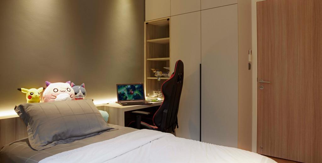 Contemporary, Condo, Bedroom, Canberra Residences, Interior Designer, DSOD Interior