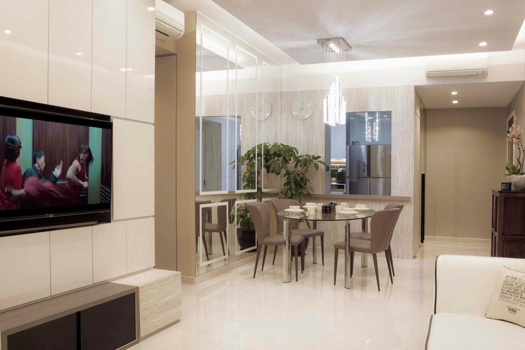 Canberra Residences Living Room Interior Design 2