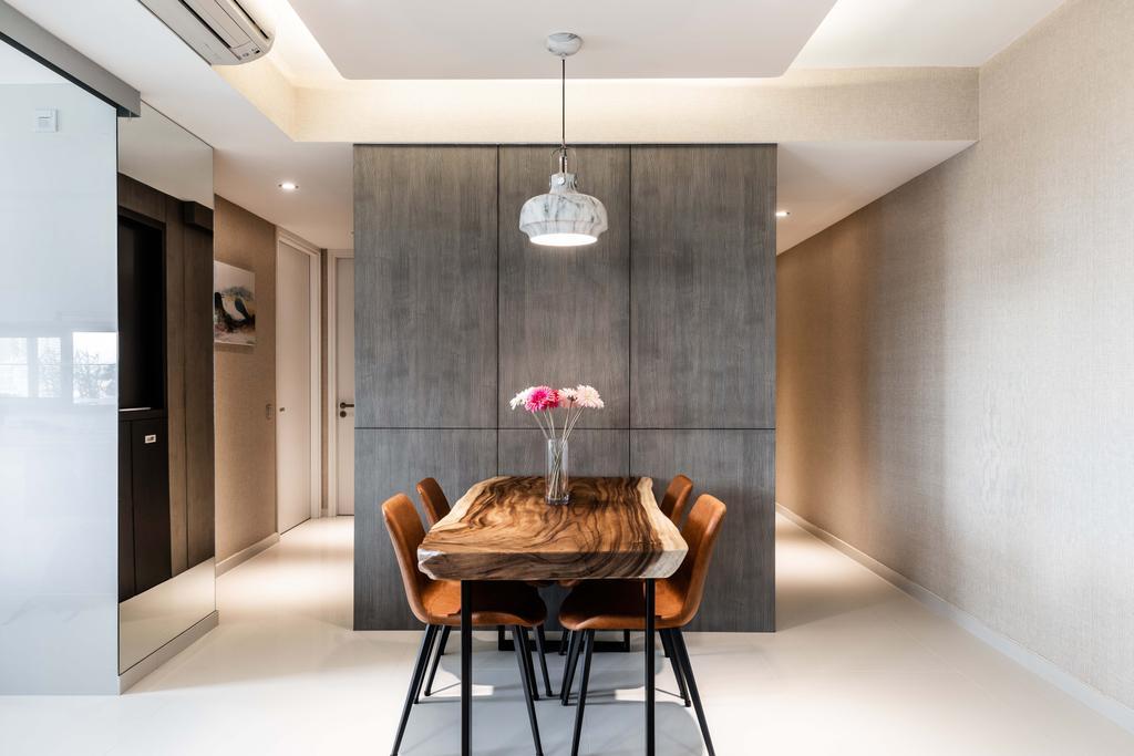 Contemporary, Condo, Dining Room, Sky Habitat, Interior Designer, DSOD Interior
