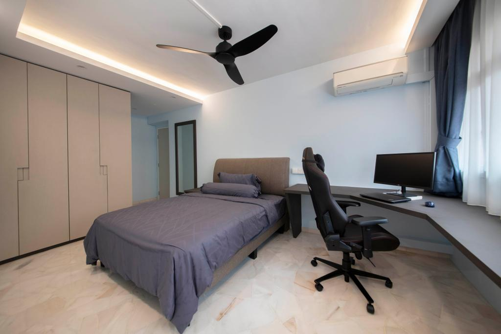 Contemporary, HDB, Bedroom, Pasir Ris Street 71, Interior Designer, Form Design