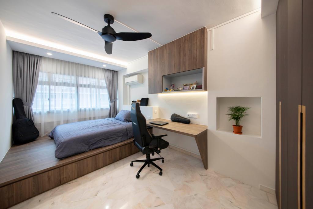 Contemporary, HDB, Bedroom, Pasir Ris Street 71, Interior Designer, Form Design