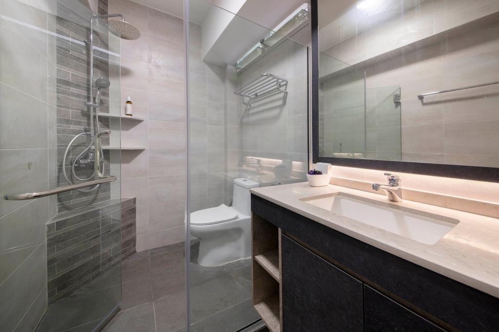 Contemporary, HDB, Bathroom, Pasir Ris Street 71, Interior Designer, Form Design