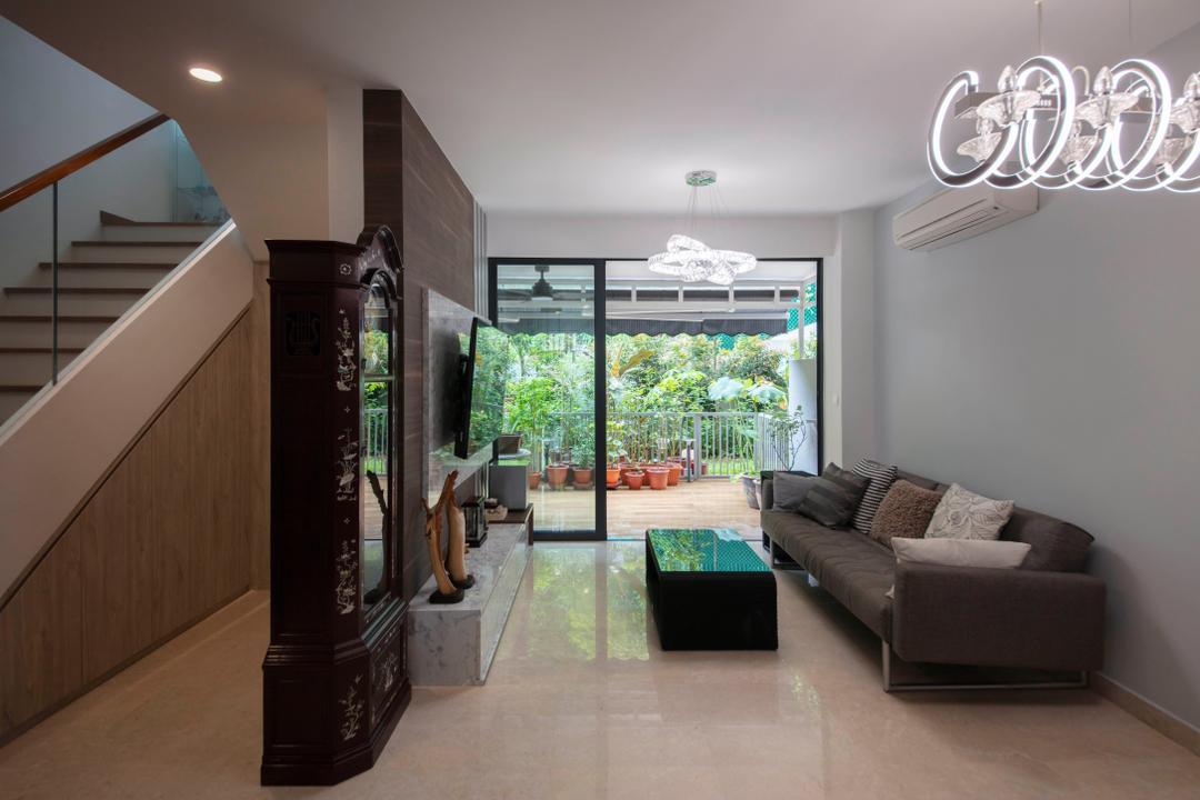 Elite Residences, Form Design, Transitional, Contemporary, Living Room,  Condo