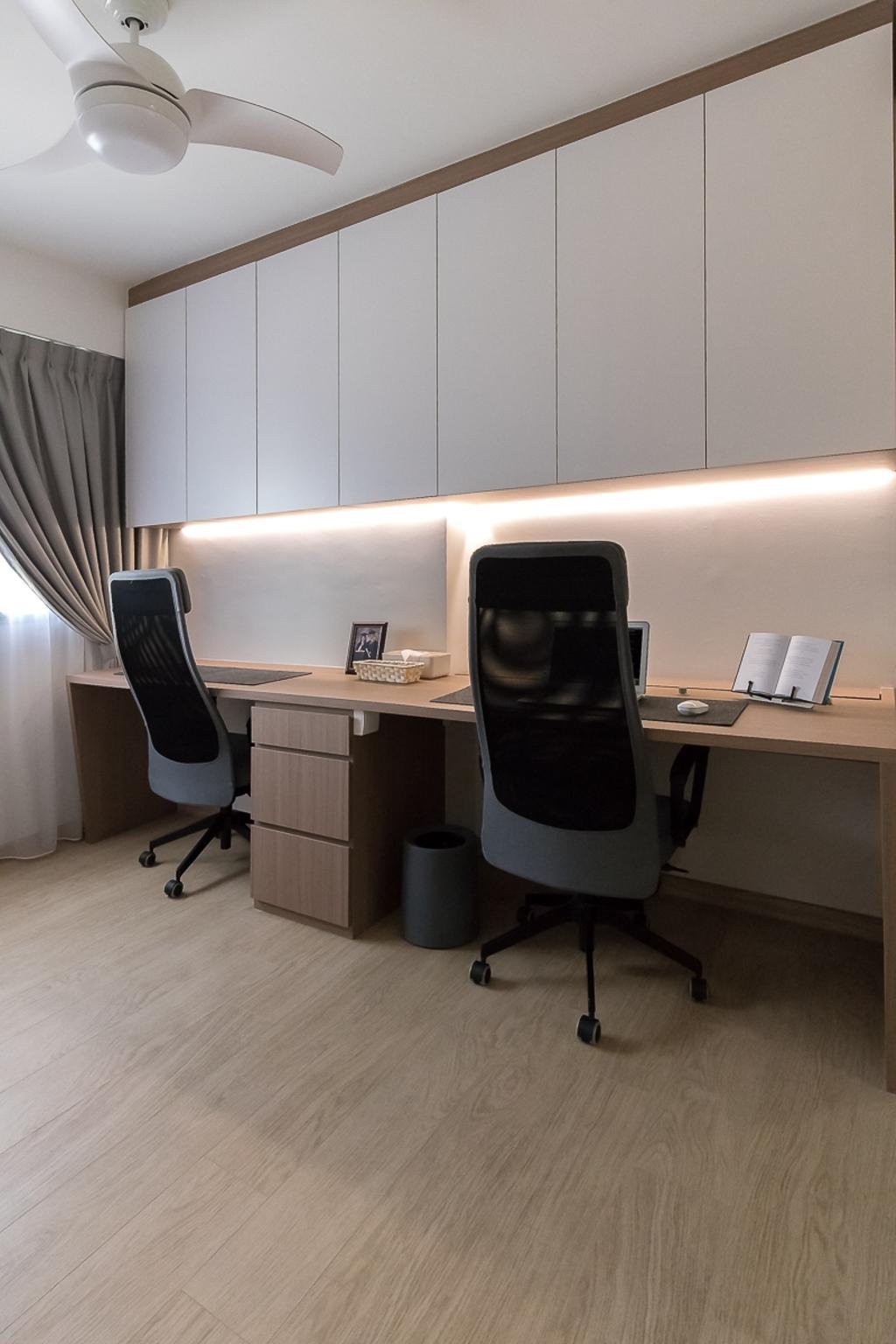 Contemporary, HDB, Study, Canberra Walk, Interior Designer, Style Living Interior