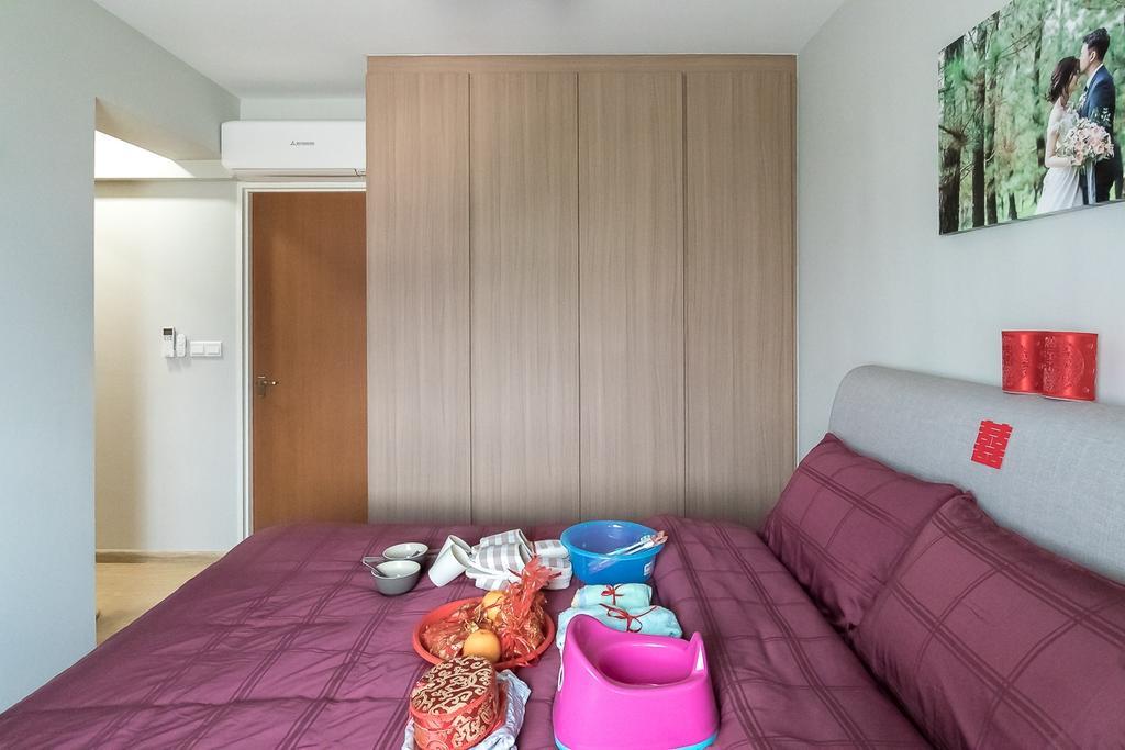 Contemporary, HDB, Bedroom, Canberra Walk, Interior Designer, Style Living Interior