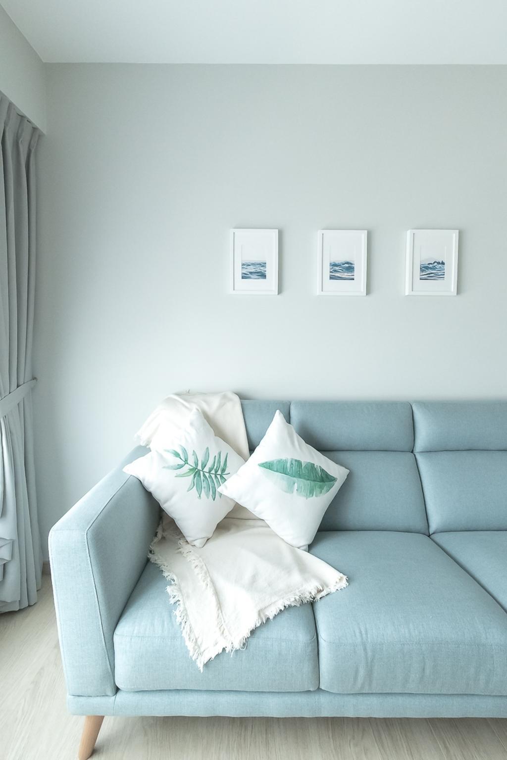 Contemporary, HDB, Living Room, Canberra Walk, Interior Designer, Style Living Interior