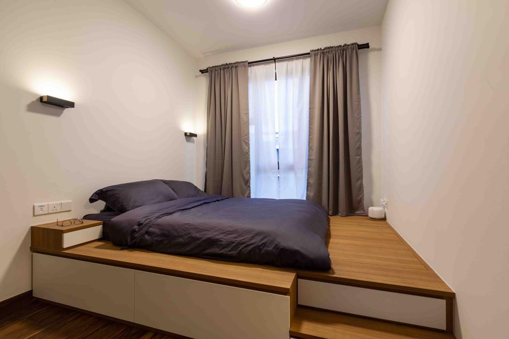 Contemporary, Condo, Bedroom, The Brownstone, Interior Designer, Fineline Design
