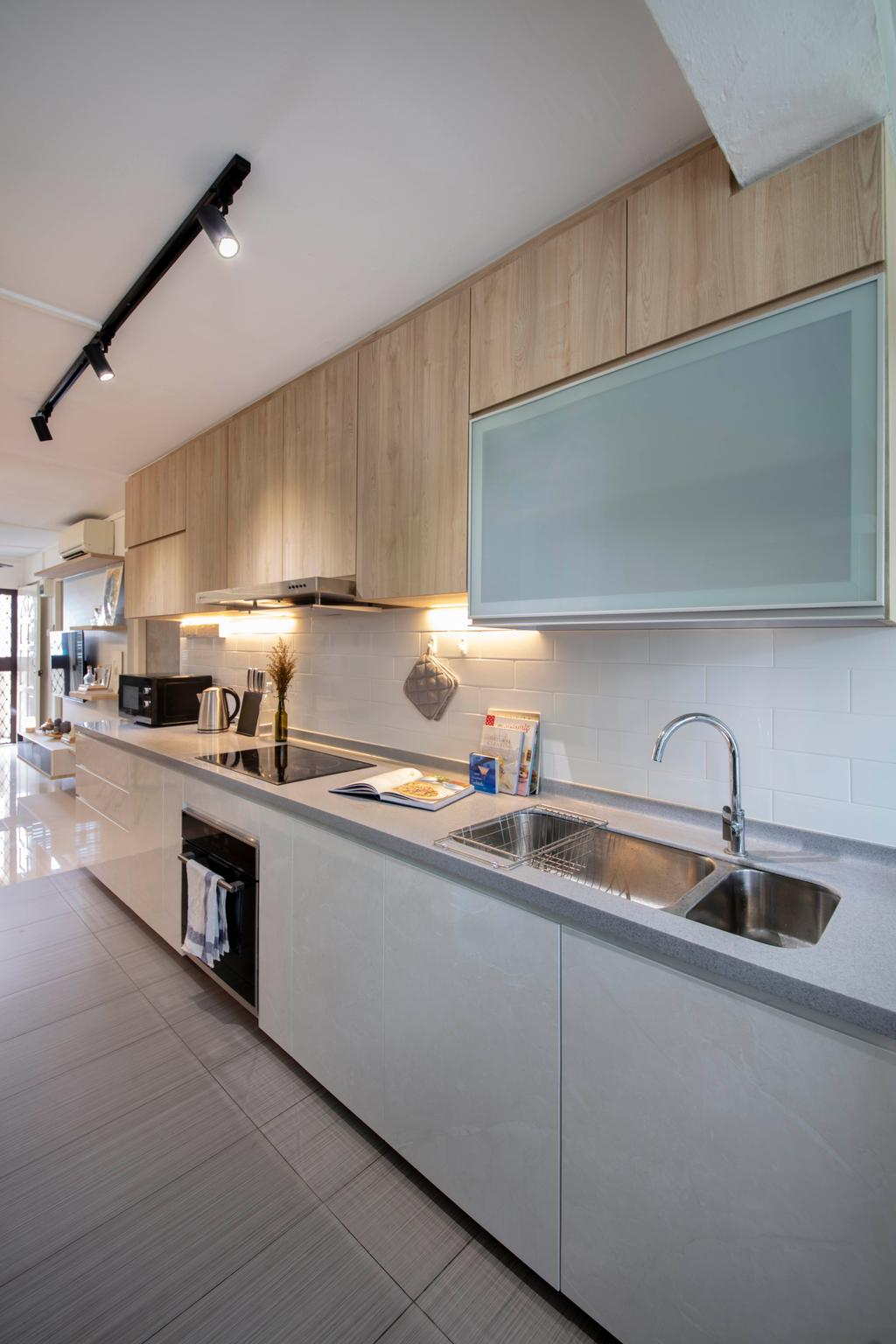 Contemporary, HDB, Kitchen, Commonwealth Close, Interior Designer, Willis Design, Scandinavian