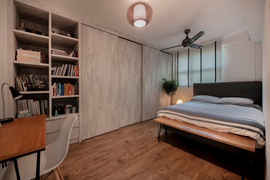 Contemporary, HDB, Bedroom, Commonwealth Close, Interior Designer, Willis Design, Scandinavian