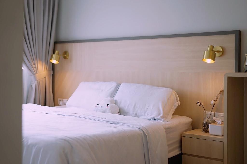 Contemporary, HDB, Bedroom, Sumang Lane, Interior Designer, Authors • Interior & Styling, Scandinavian
