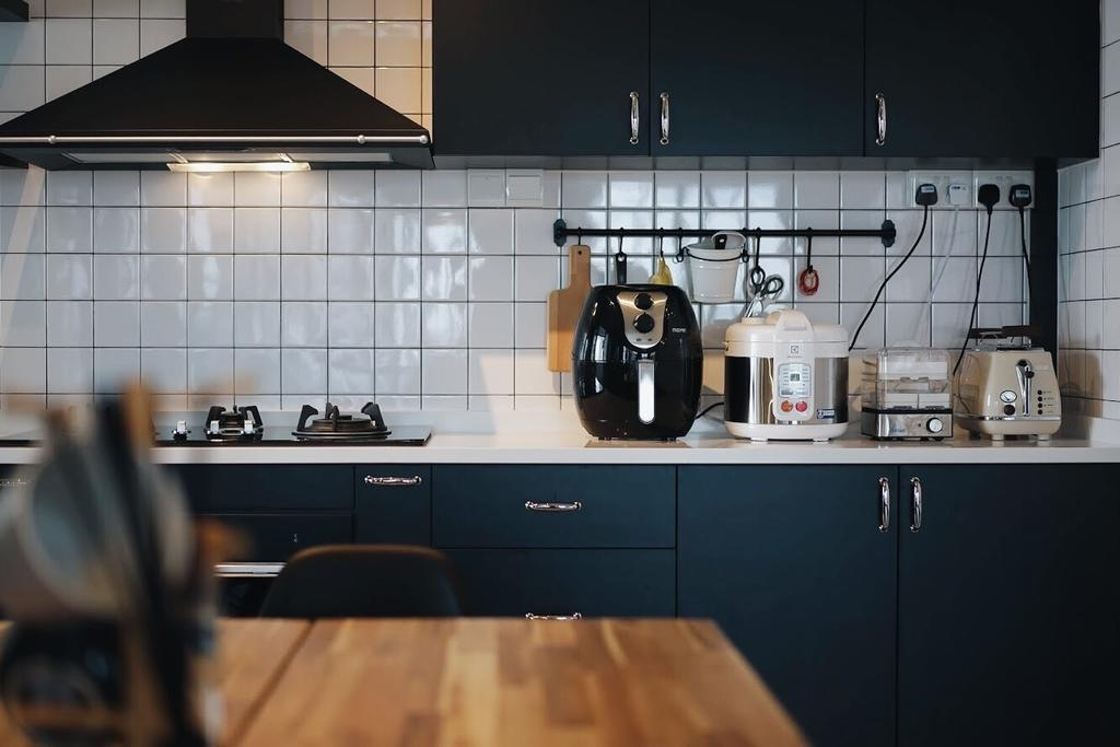 Contemporary, HDB, Kitchen, Punggol East, Interior Designer, Authors • Interior & Styling, Industrial