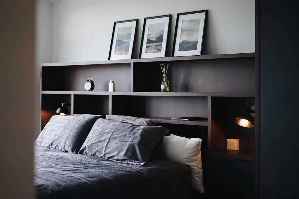Contemporary, HDB, Bedroom, Punggol East, Interior Designer, Authors • Interior & Styling, Industrial