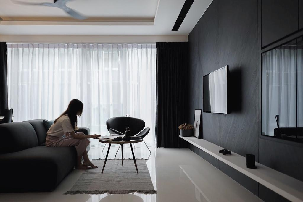 Contemporary, Condo, Living Room, Wilkie Studio, Interior Designer, Authors • Interior & Styling