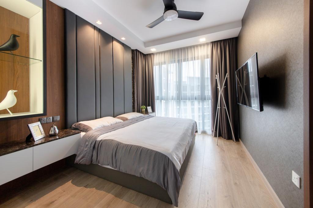 Contemporary, Condo, Bedroom, The Criterion, Interior Designer, Anhans Interior Design