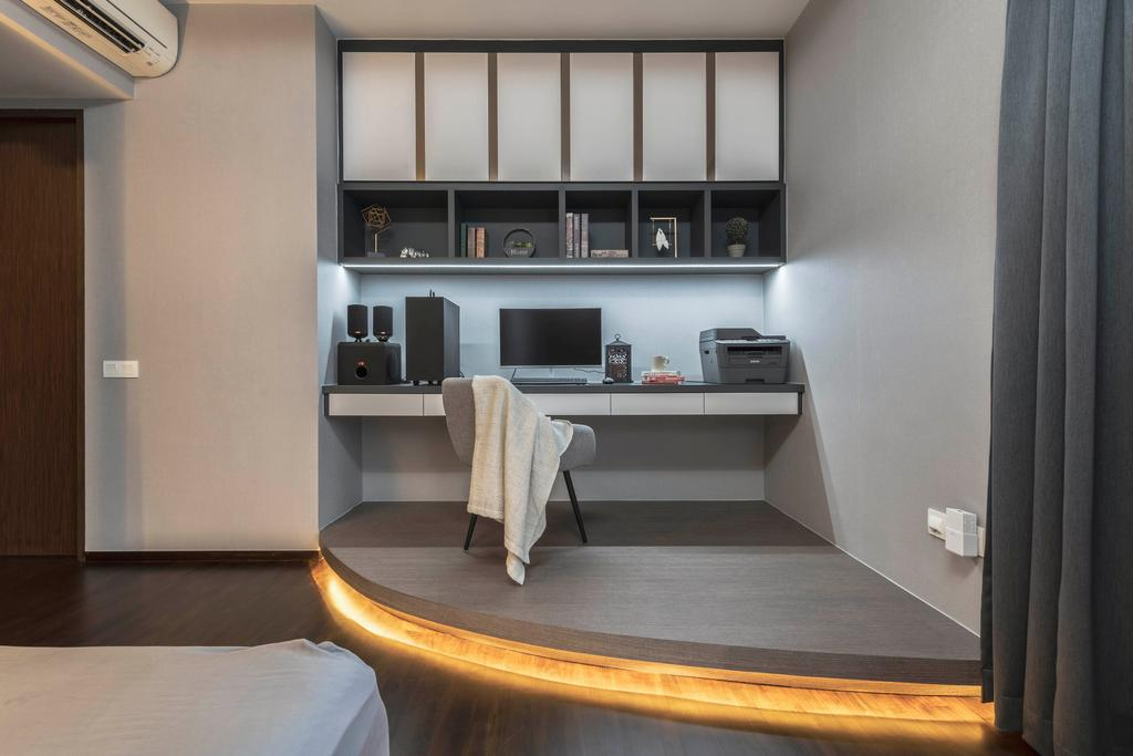 Contemporary, Condo, Foresque  Residence, Interior Designer, Space Define Interior
