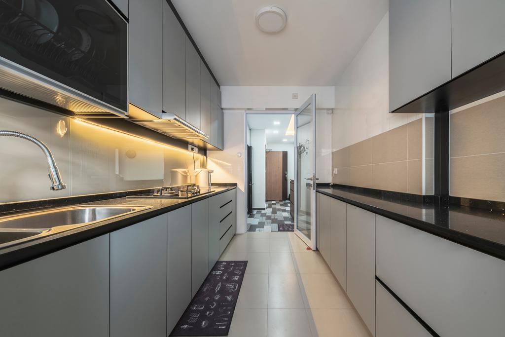 Contemporary, HDB, Kitchen, Bukit Batok West Avenue 6, Interior Designer, The Interior Place