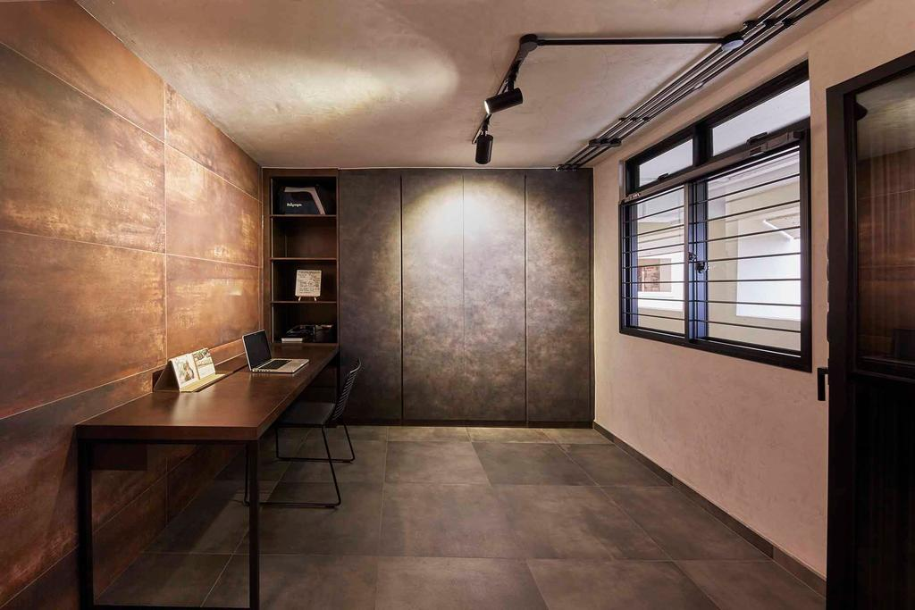 Industrial, HDB, Study, Holland Avenue, Interior Designer, The Interior Lab