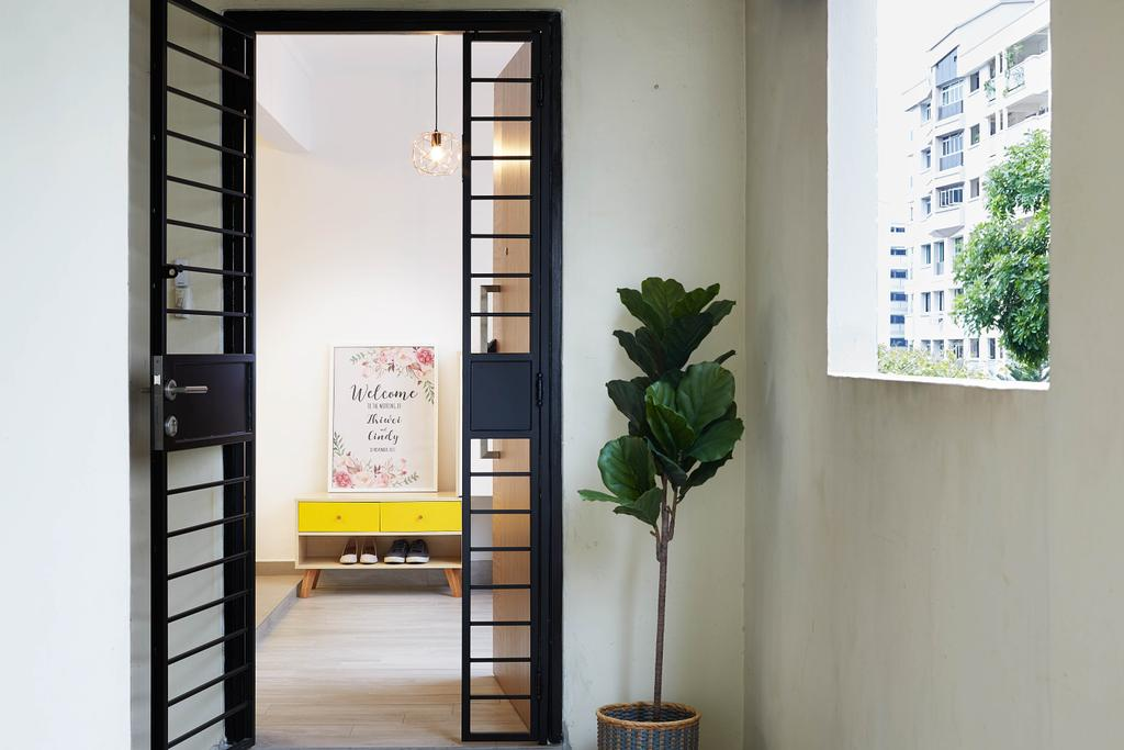 Contemporary, HDB, Woodlands Avenue 5, Interior Designer, D5 Studio Image, Scandinavian