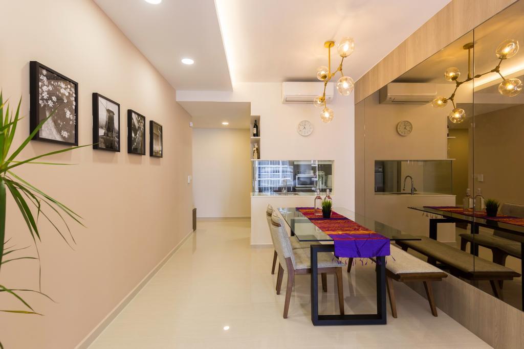 Contemporary, Condo, Dining Room, Sol Acres, Interior Designer, AgcDesign