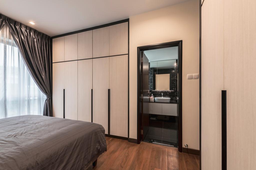 Contemporary, Condo, Bedroom, Palm Haven, Interior Designer, Escapade Studios