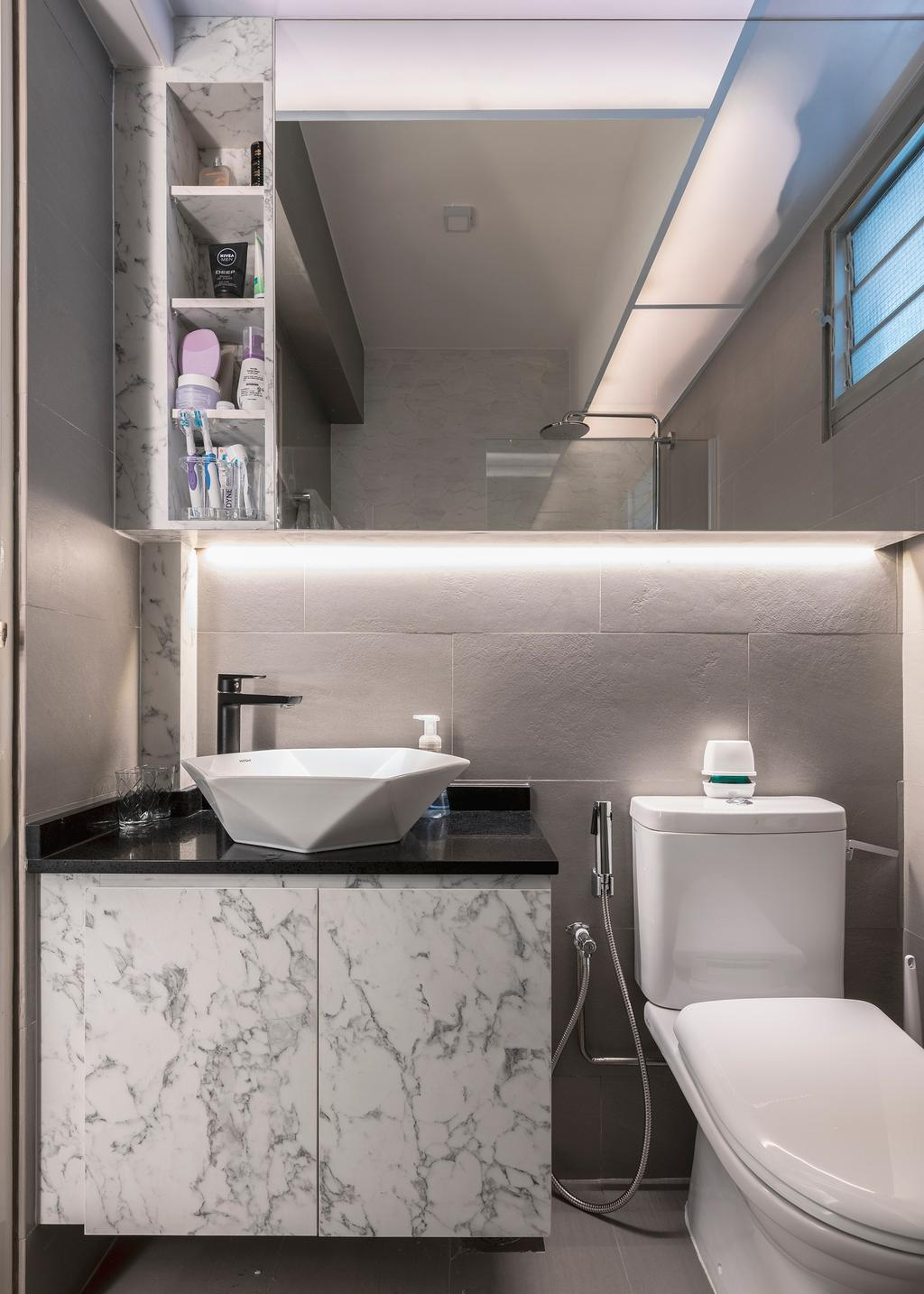 Contemporary, HDB, Bathroom, Bukit Batok West Avenue 8, Interior Designer, Ascenders Design Studio