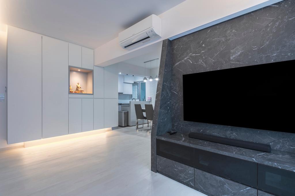 Contemporary, HDB, Living Room, Bukit Batok West Avenue 8, Interior Designer, Ascenders Design Studio