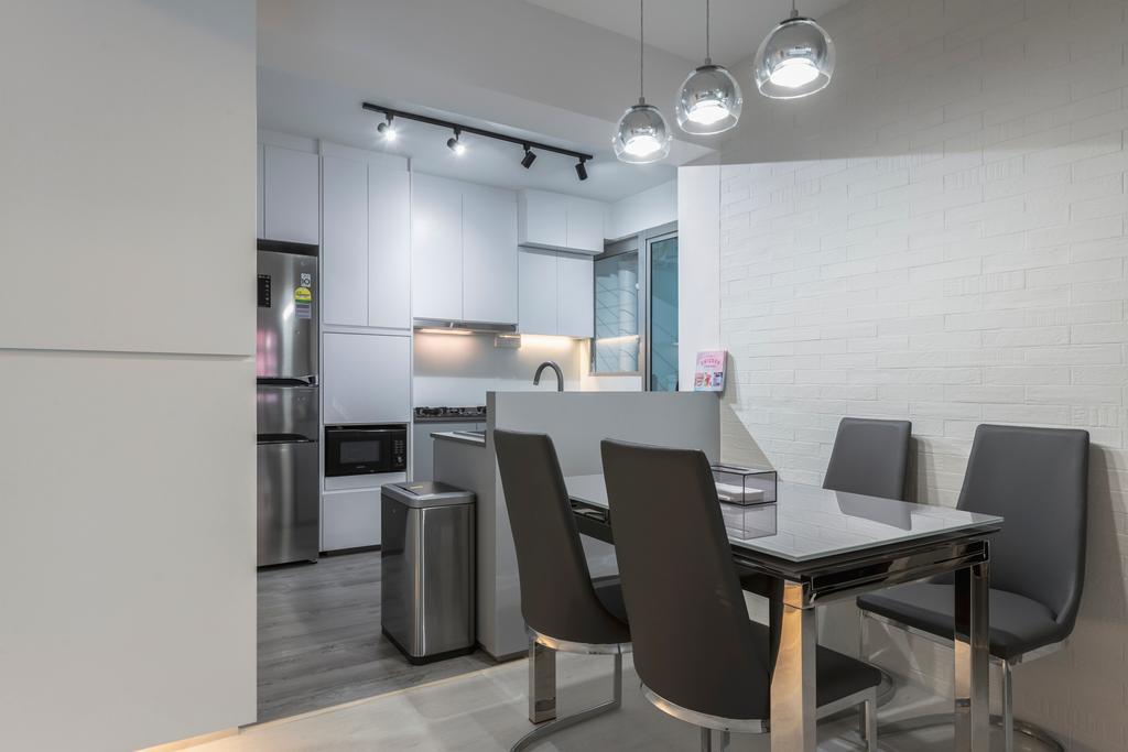 Contemporary, HDB, Dining Room, Bukit Batok West Avenue 8, Interior Designer, Ascenders Design Studio