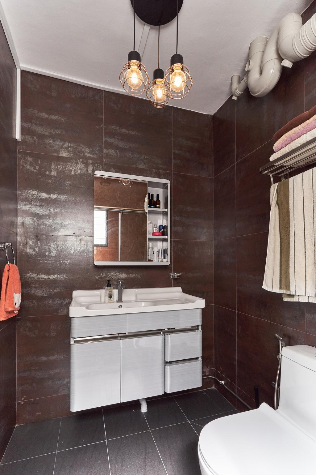 Contemporary, HDB, Bathroom, Bishan Street 24, Interior Designer, Hue Concept Interior Design