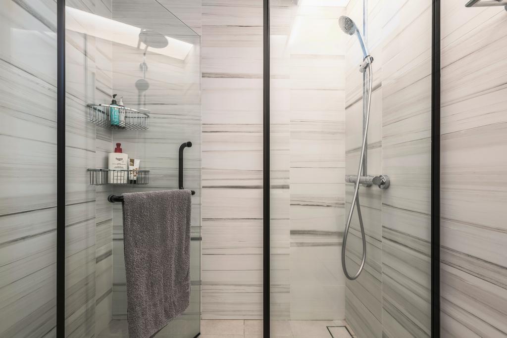 Modern, HDB, Bathroom, Buangkok Crescent, Interior Designer, DS 2000 Interior & Design, Industrial