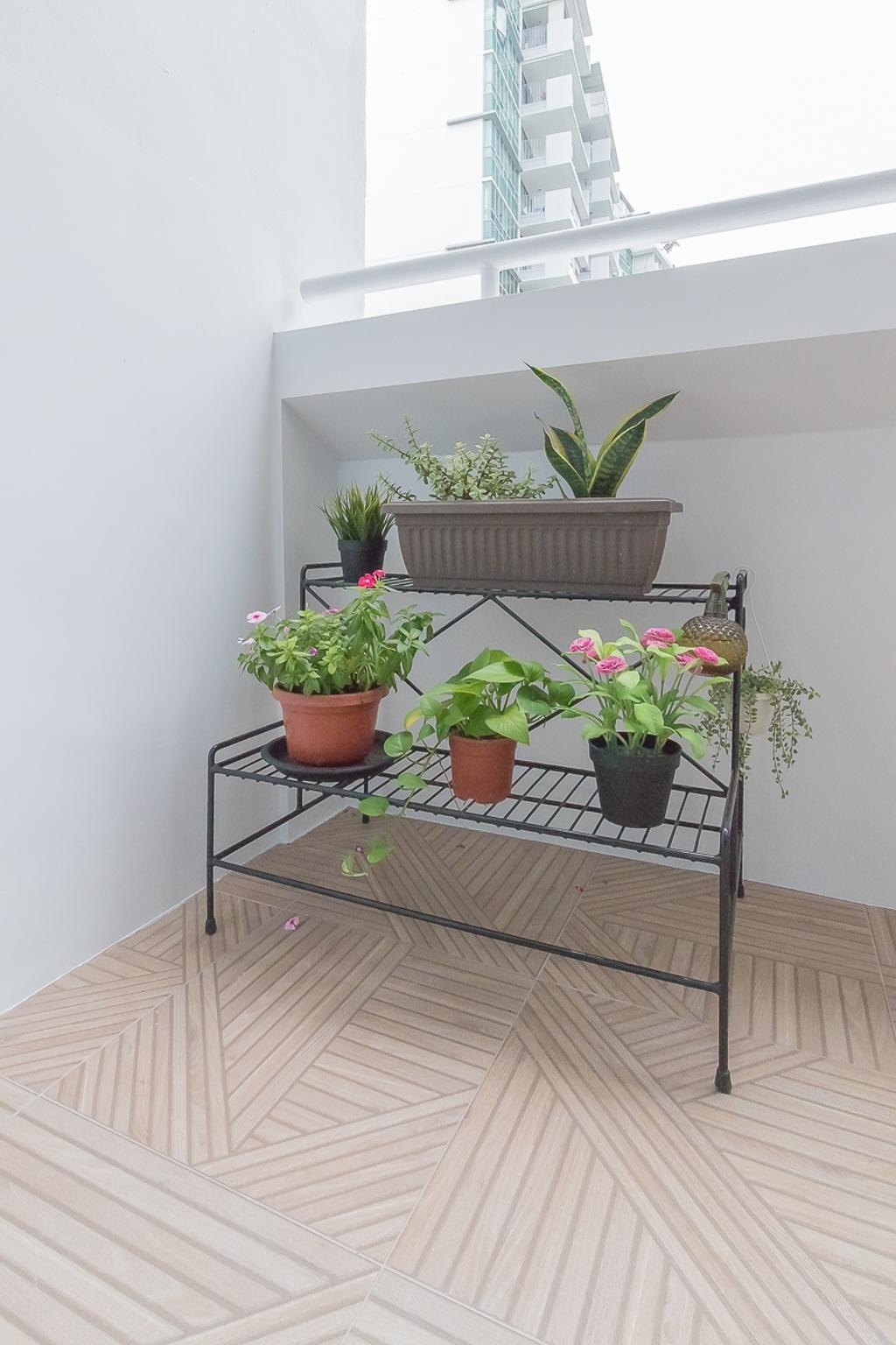 Contemporary, HDB, Balcony, Lorong Ah Soo, Interior Designer, Style Living Interior