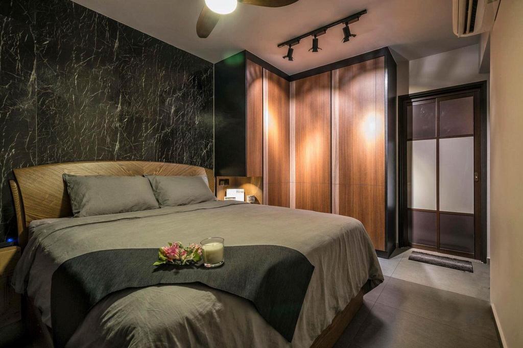 Contemporary, HDB, Bedroom, Tampines Street 45, Interior Designer, MET Interior