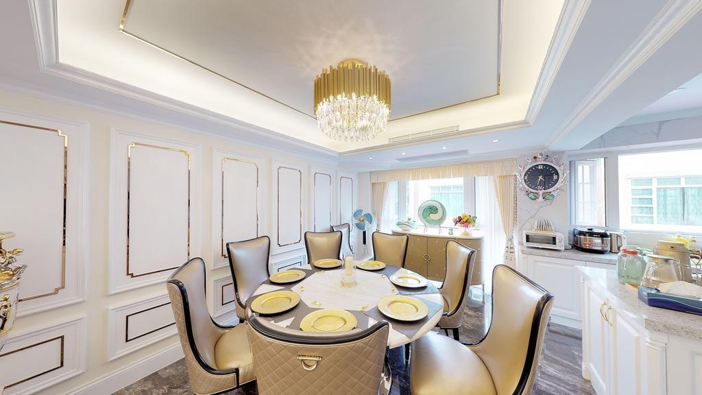 古典, 獨立屋, 飯廳, 加州豪園, 室內設計師, 和生設計