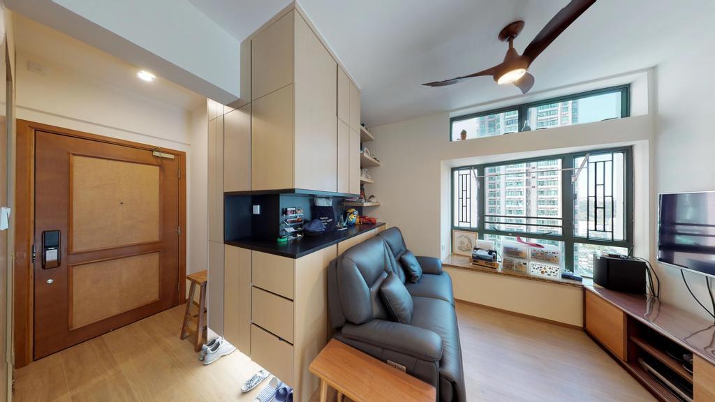 私家樓, 客廳, 東港城, 室內設計師, 和生設計