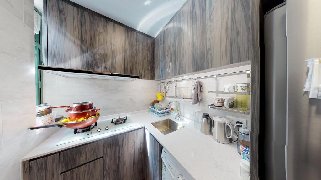 私家樓, 廚房, 東港城, 室內設計師, 和生設計