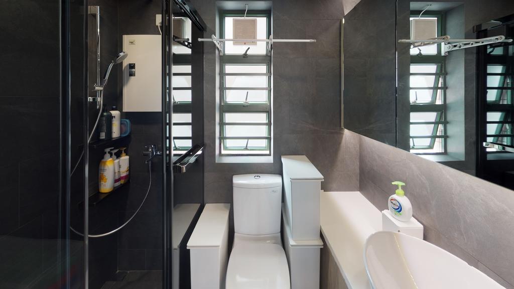 私家樓, 浴室, 東港城, 室內設計師, 和生設計