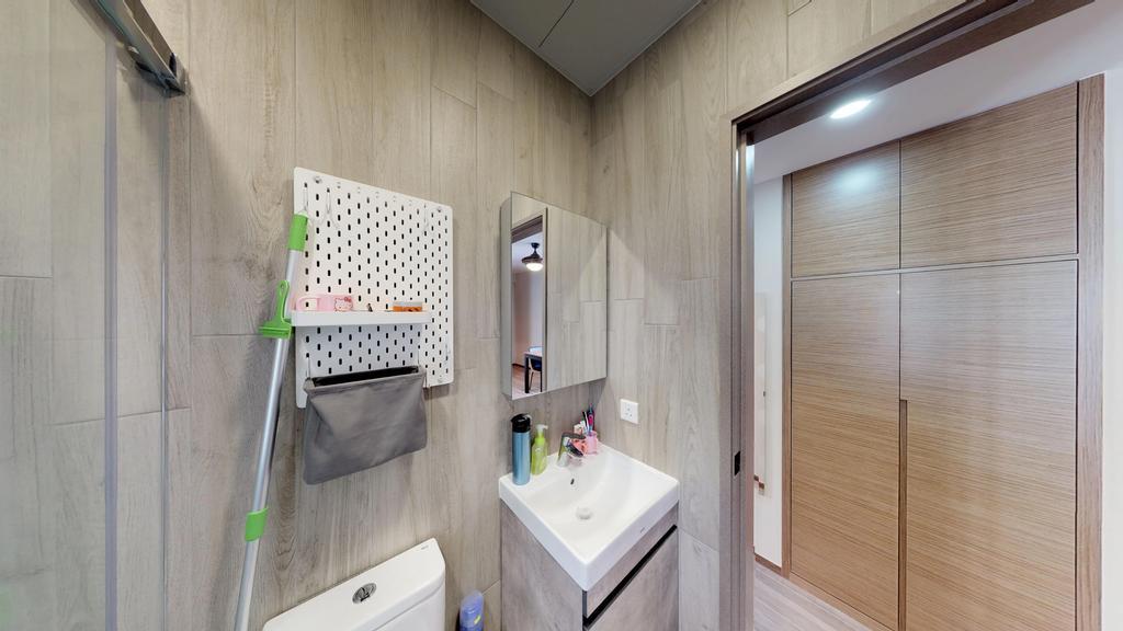 簡約, 私家樓, 浴室, 千里台, 室內設計師, 和生設計