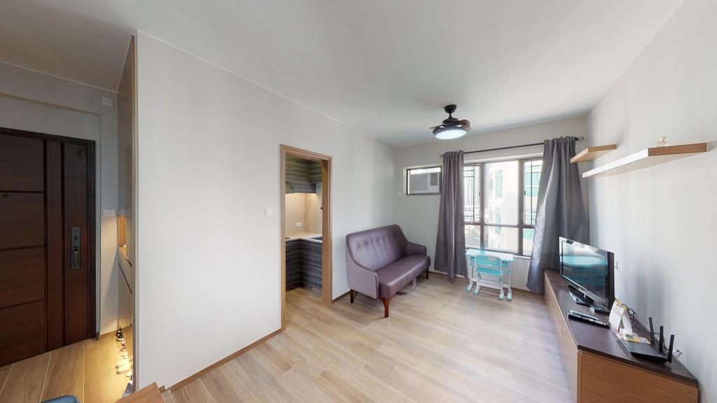簡約, 私家樓, 客廳, 千里台, 室內設計師, 和生設計